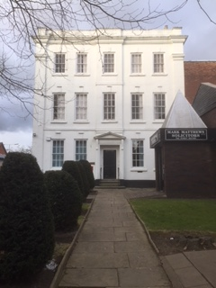 REDUCED PRICE – FOR SALE THE WHITE HOUSE CHURCH STREET TAMWORTH B79 7DH